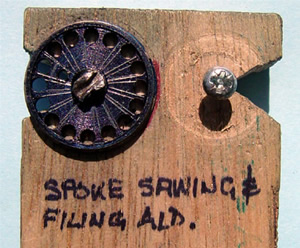 spoke sawing jig